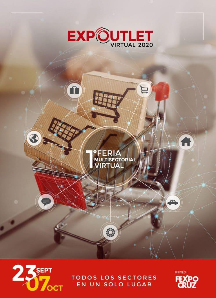 Lanzan EXPO OUTLET VIRTUAL 2020, la feria multisectorial 100% virtual más grande del año